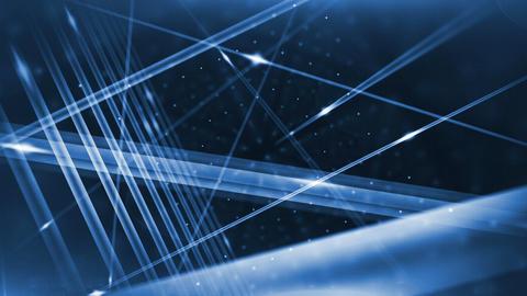 Optical fibers animation Animation