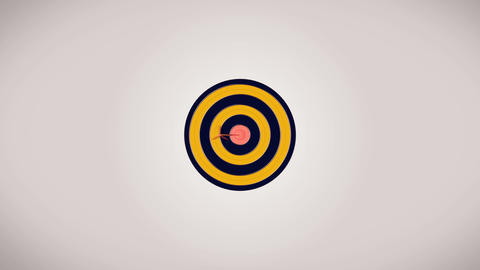 Hitting the target Animation