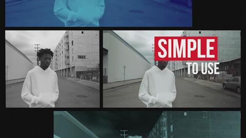 Urban Media Opener Logo Premiere Pro Template