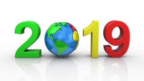 New Year 2019 Animation