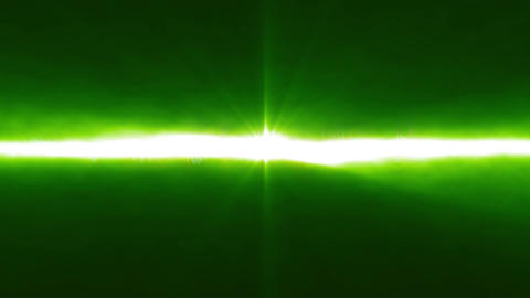 Abstract Green Laser Ray Background Animation