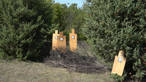 Target For Firing At The Range Live Action
