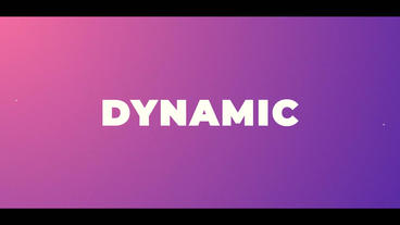 Colorful Opener Motion Graphics Template