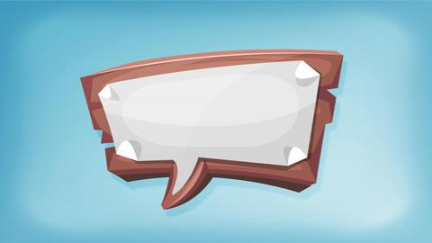 Animated Advertisement Speech Bubble Animation