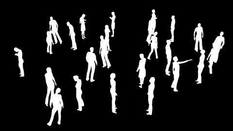 Human Population 4 Animation