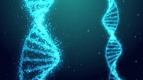 DNA Background CG動画素材