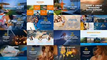 Travel Agency Promo After Effects Template