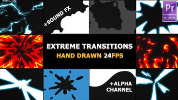 Flash FX Extreme Transitions Motion Graphics Template
