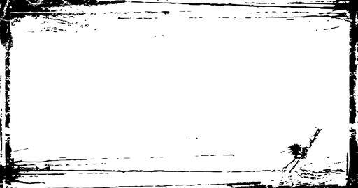 Grunge Distressed Frame textured Loop Animation