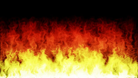 Fire And Flames Igniting And Burning Background Animation