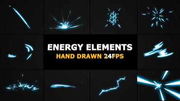 2DFX Energy Elements After Effectsテンプレート
