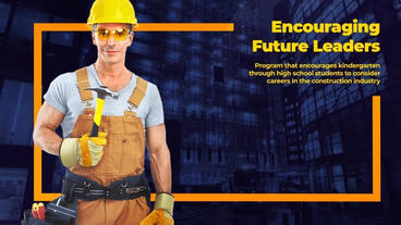 Construction Company: Building House After Effects Template