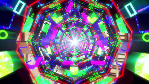 VJ Loop Tunnel 01 Animation