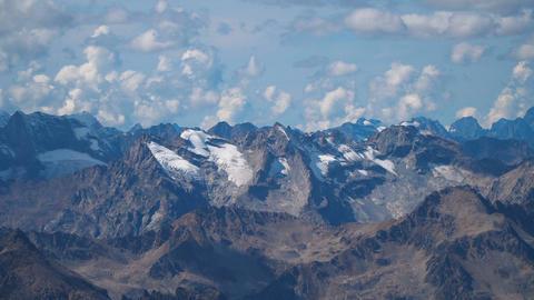 Landscape view of Caucasus mountains Footage