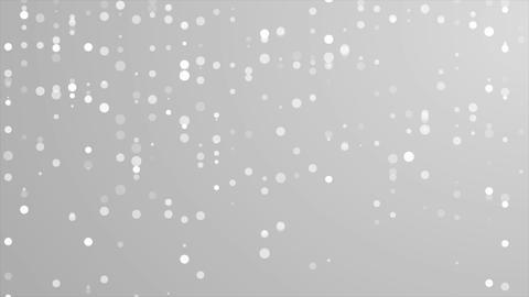 Abstract grey shiny circles mosaic video animation CG動画素材