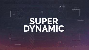 Super Dynamic Premiere Proテンプレート