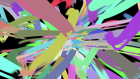 paint stroke loop 1 Animation
