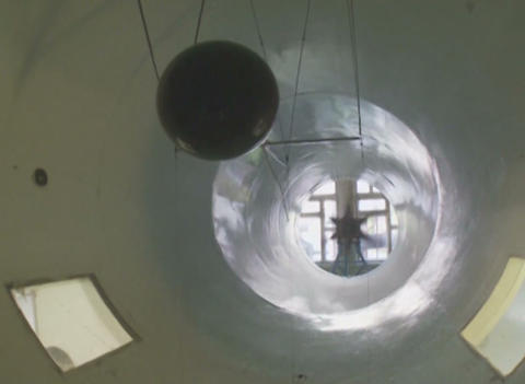 Wind tunnel Stock Video Footage