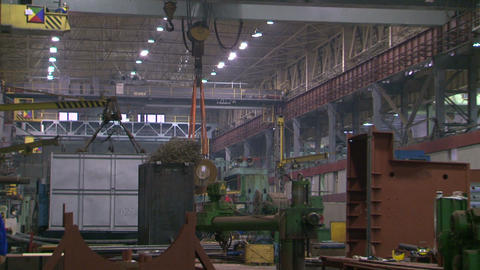 Industrial plant, the enterprise Footage
