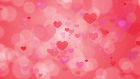 Valentine's Day, motion heart, loop Stock Video Footage