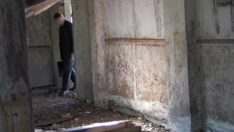slum Stock Video Footage