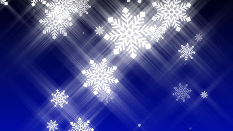 Loopable Snow Falling Animation Animation