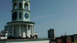 Halifax Nova Scotia New Scotland Canada 058 zoom out from old town clock Footage