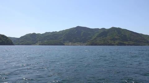 4K Ocean view from breakwater Kyoto Japan 音海大波止から望む日本海 Footage
