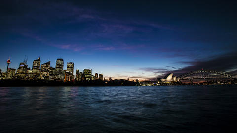 Sydney OperaHouse, Night View, Macquarie Look Live Action