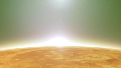 HD Venus Planet Surface Clip Animation