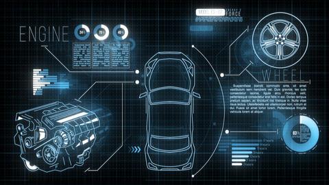 Futuristic Displays Data HUD 0