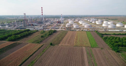 Oil Refinery - Aerials