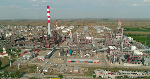 Oil Refinery - Aerials 1