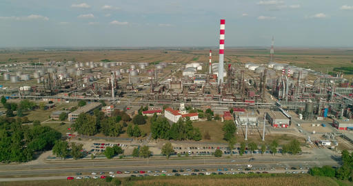 Oil Refinery - Aerials 2