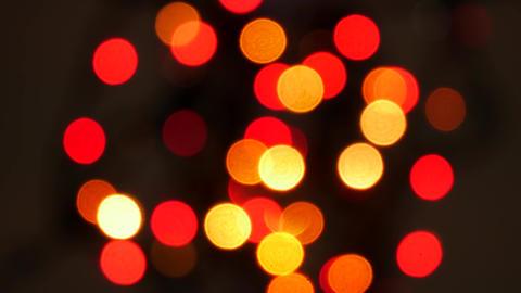 Defocused bokeh lights background Footage