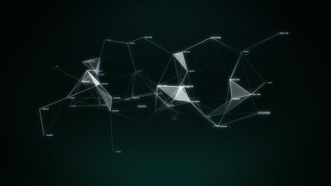 Data and Networks - Plexus Animation Background Animation