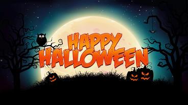 Halloween Opener Plantilla de After Effects