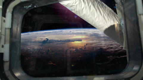 Space Station Window - View 4 Animation