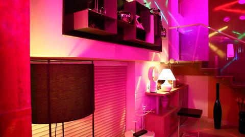 Interior of Contemporary home Footage