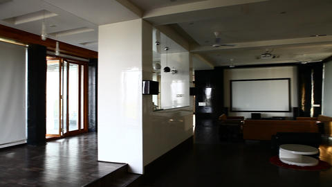 Interior of Modern Building Footage