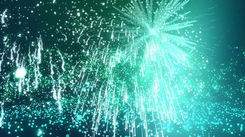 animation of cartoon effect of firework Animation