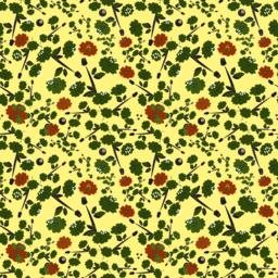 Vector seamless floral background Vector