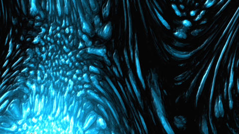 Alien Monster Texture Background Loopable Animation