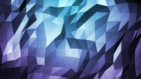 Abstract Low polygons Background Animation