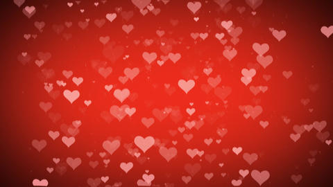 Heart Background For Valentine's day Animation