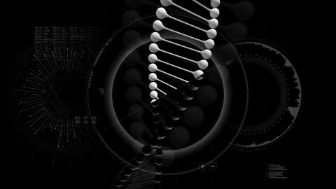 DNA Hud Animation 4K Animation