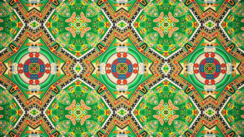 Buddhist Mandala Kaleidoscopic loop animation Animation