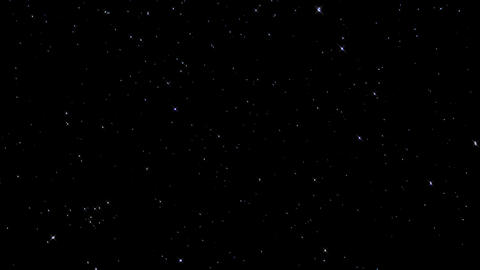 Beautiful Starry Night Sky Live Action