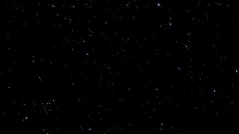 Beautiful Starry Night Sky Footage