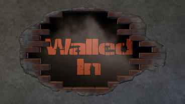 Walled In - Crumbling Wall Logo Reveal After Effects Template